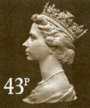 43p Cheap GB Postage Stamp